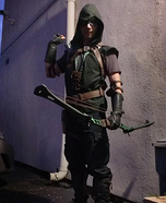 Green Arrow Homemade Costume