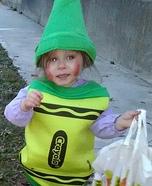 Green Crayola Crayon Costume