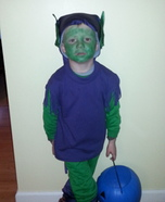 Green Goblin Homemade Costume