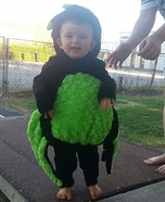 Green Spider Baby Costume