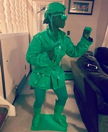 Green Toy Soldier Homemade Costume