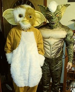 Gremlins Gizmo & Stripe Homemade Costume