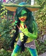 Greta Gremlin Homemade Costume