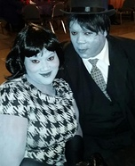 Greyscale Couple Homemade Costume