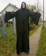 Grim Reaper Homemade Costume