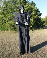 Grim Reaper Homemade Costume