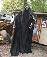 Grime Reaper Homemade Costume