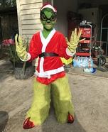 Grinch Homemade Costume