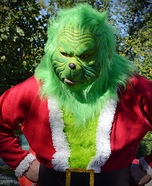 Grinch who Stole Christmas Homemade Costume