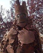 Groot Homemade Costume Idea