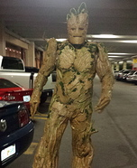 Homemade Groot Costume Idea for Men