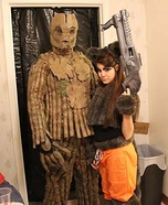 Guardians of the Galaxy Groot and Rocket Costume