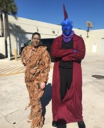 Groot and Yondu Homemade Costume