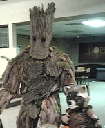 Groot from Guardians of the Galaxy Homemade Costume