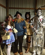 Group Wizard of Oz Homemade Costume