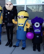 Gru and Crew Despicable Me 2 Family Costume