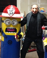 Gru and his Minions Homemade Costumes