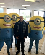 Gru and his Minions Homemade Costume