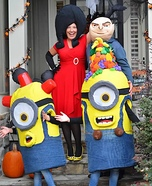 Gru and Minions Homemade Costume