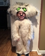 Gruff the Neverbeast Homemade Costume