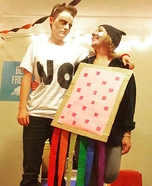 Grumpy Cat and Nyan Cat Homemade Costume