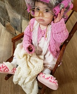Grumpy Granny Homemade Costume