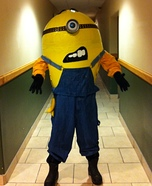 Gru's Minion Homemade Costume