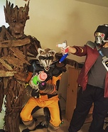 Guardians of the Galaxy Homemade Costume