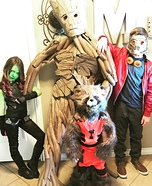 Guardians of the Galaxy Family Halloween Costume