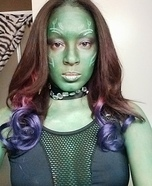 Guardians of the Galaxy Gamora Homemade Costume