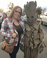 DIY Guardians of the Galaxy Groot Costume
