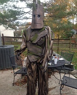 Creative DIY Guardians of the Galaxy Groot Costume