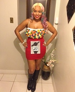 Creative DIY Costume Ideas for Women - Gum Ball Machine Costume