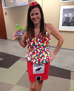 Gumball Machine Homemade Costume