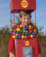 DIY Gumball Machine Costume for Kids