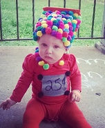 Gumball Machine Baby Homemade Costume