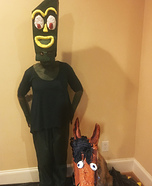 Gumby and Pokey Homemade Costume