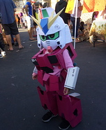 Gundam Bear Homemade Costume