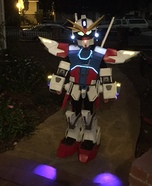 Gundam Strike Homemade Costume
