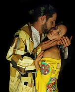 Gustav Klimt The Kiss Homemade Costume