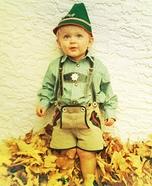 Guten Tag Boy Homemade Costume