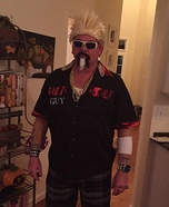 Guy Fieri Homemade Costume