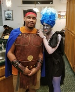 Hades and Hercules Homemade Costume