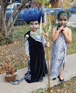 Hades and Medusa Homemade Costume