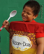 Haggen Dazs Homemade Costume