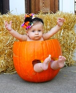 Pumpkin Baby Girl