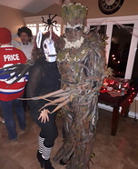 Hairy Groot Homemade Costume