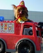 Hairy the Fireman Dog Costume