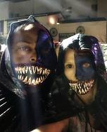 Half-faced Aliens Costume