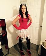 Half Angel half Devil Homemade Costume